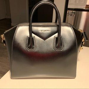 Large Givenchy Antigone Bag Glazed Calf Leather